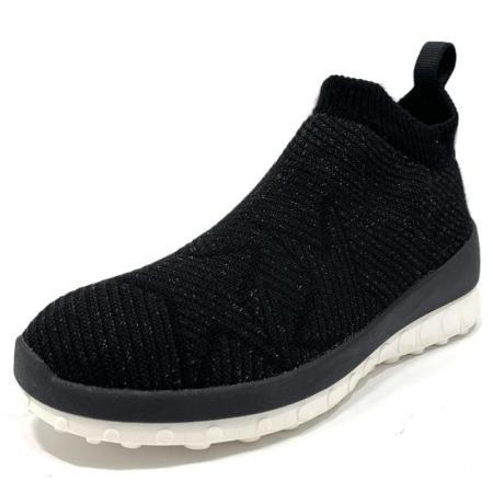 ccilu HORIZON WOOL STAR スリッポン レディース【BLACK/WHITE】